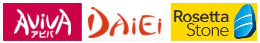 AVIVA&大栄&ロゼッタのロゴ