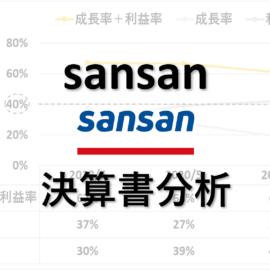 sansan:決算書分析